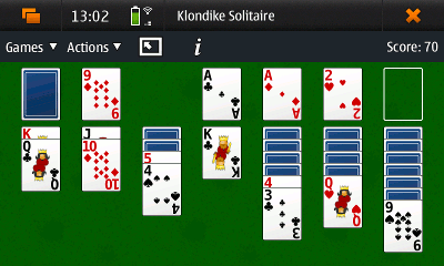 klondike screenshot